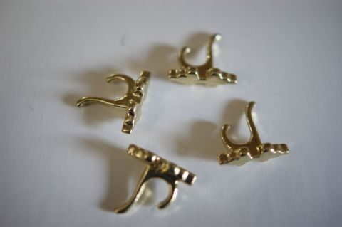 Brass Coat Hook (1)